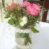 Tischdeko Dekoration Tisch Hochzeit Feier Gesteck Blumen Blumenstrauß art floral Leipzig Florist